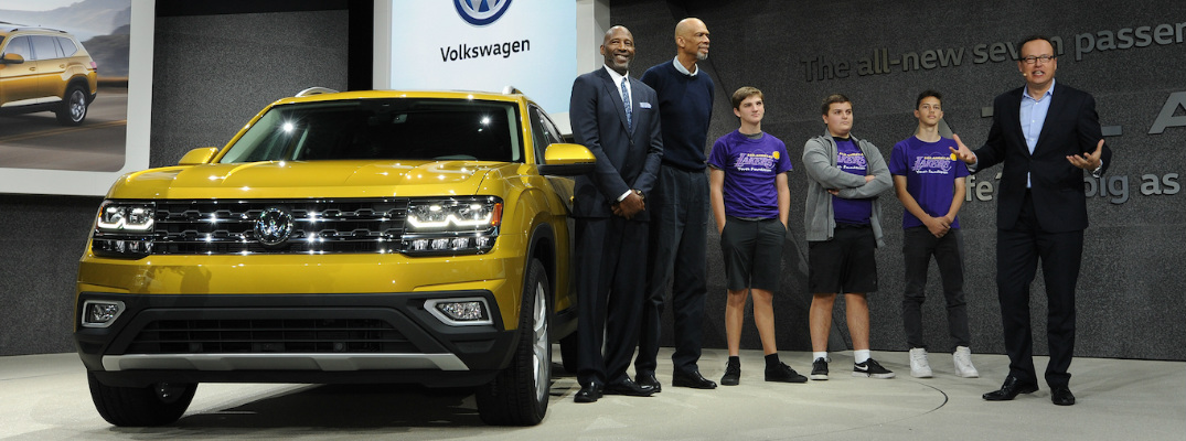 2016 LA Auto Show VW Donation to Lakers Youth Foundation