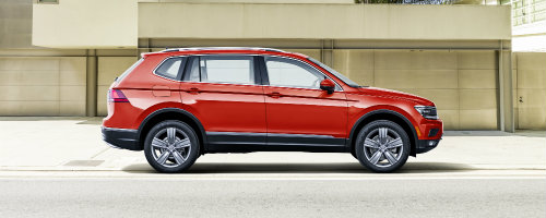 Volkswagen 2018 Tiguan model features