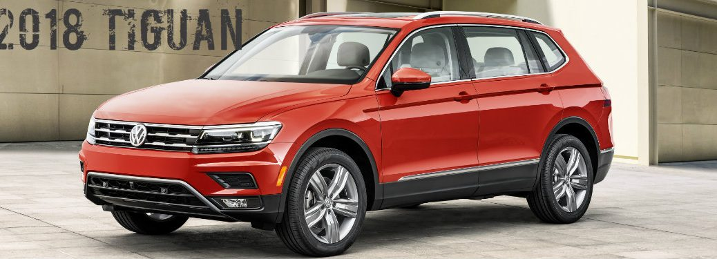 2018 VW Tiguan Reveal