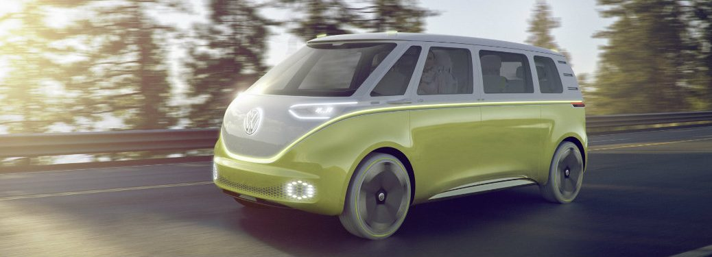 Volkswagen I.D. Buzz and 2017 North American Concept Vehicle of the Year Awards