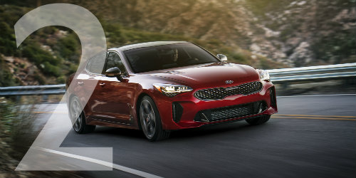 new kia stinger models