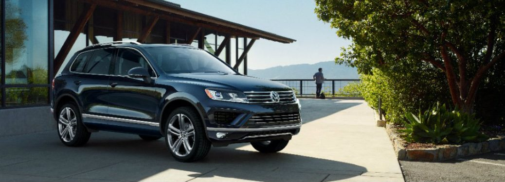 2017 VW Touareg cargo options
