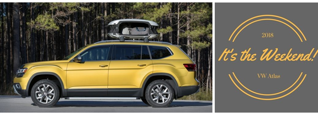 2018 VW Atlas Weekender Edition model