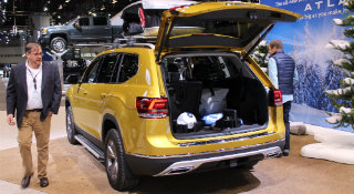 2018 atlas weekender edition cargo space Chicago Auto Show
