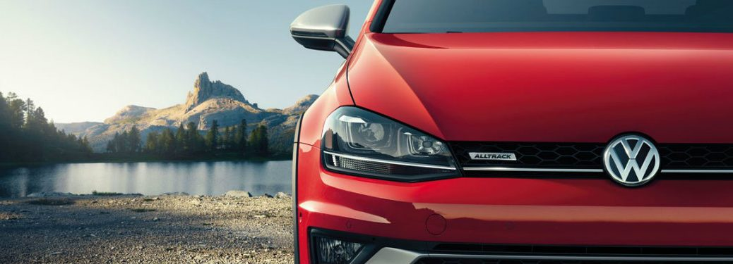 2017 Golf Alltrack car of the year award
