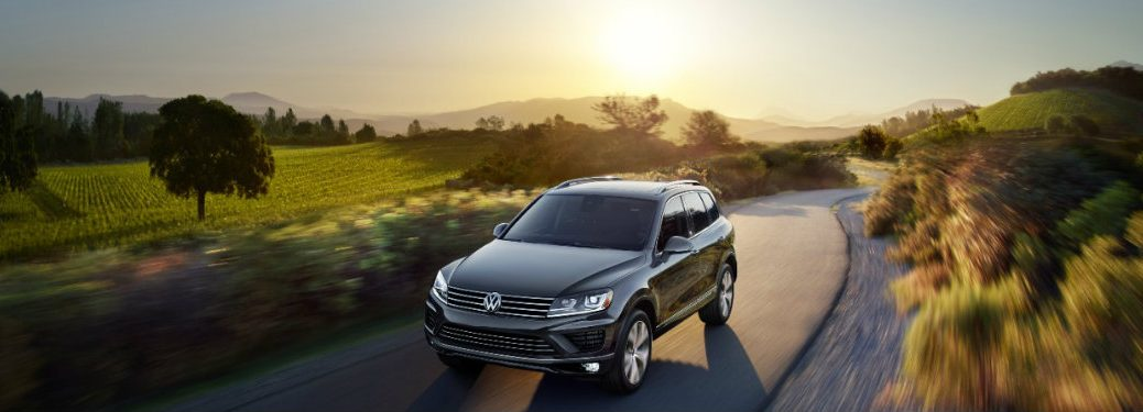 2017 VW Touareg towing