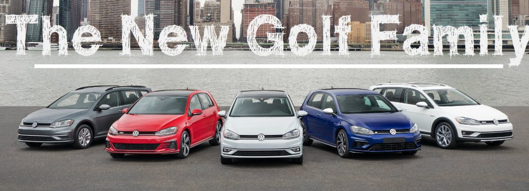 new 2018 golf family