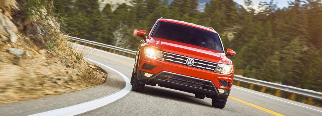What are the safety features in the 2018 Volkswagen Tiguan?