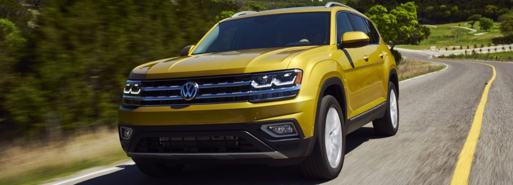 The 2018 Volkswagen Atlas Gets 5-Star Safety Rating from NHTSA