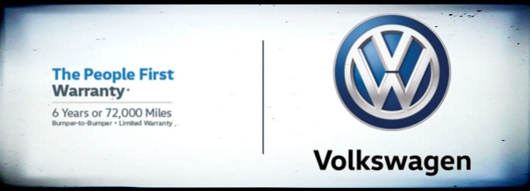 Volkswagen People First Warranty Details and the Volkswagen Logo