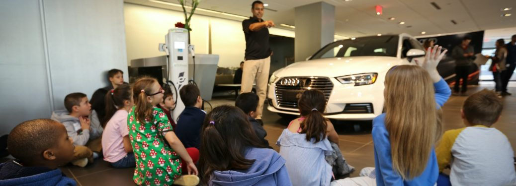 Children at Volkswagen Take Our Daughters and Sons to Work Day