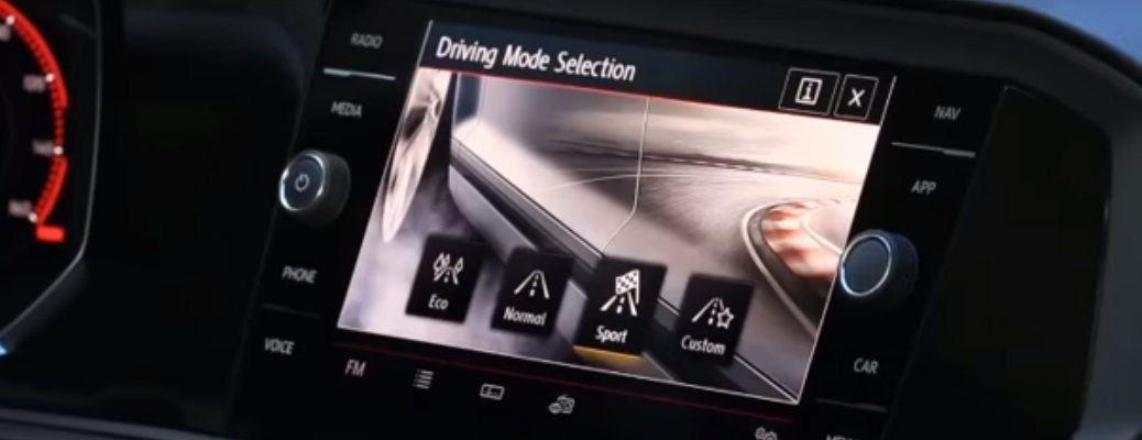 Driving Mode Selection Feature in 2019 VW Jetta