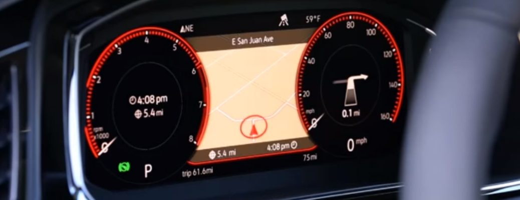 Volkswagen Digital Cockpit in 2019 VW Jetta