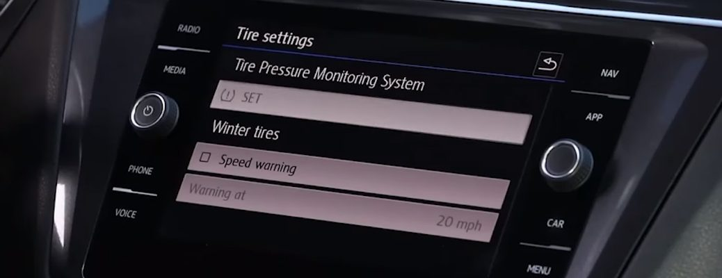 Tire Pressure Monitoring System in 2019 Volkswagen Tiguan