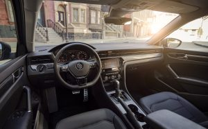 front seats and dash of vw passat