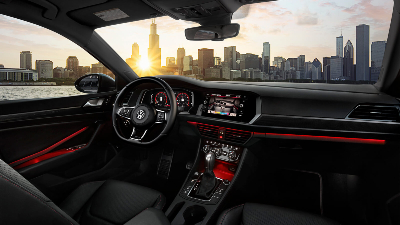 2020 Jetta GLI cockpit showcase