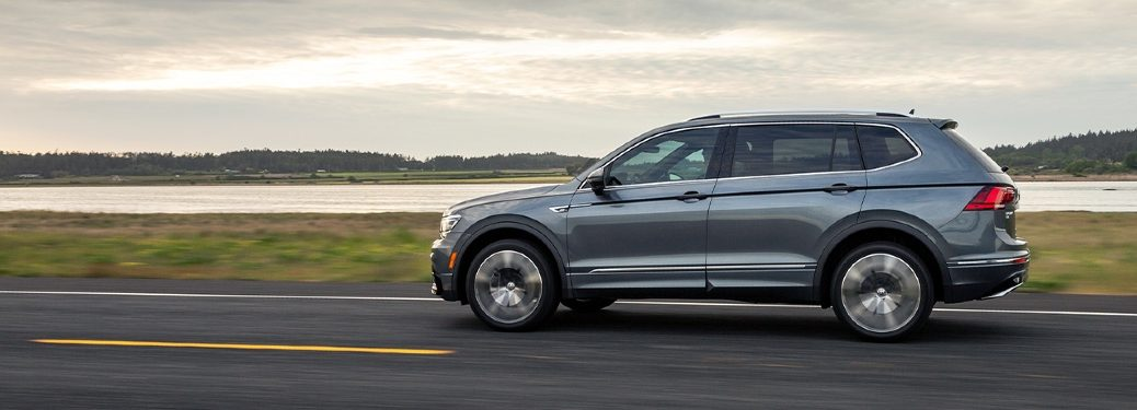 2020 Tiguan driving near body of water