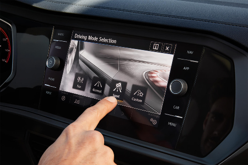 2020 Jetta drive mode selection
