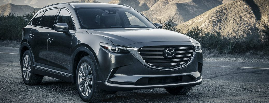 front exterior grille design changes on the 2016 mazda cx-9