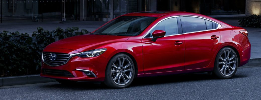 2017 Mazda6 available safety features