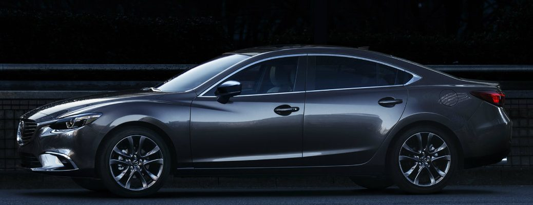 Available colors on the 2017 Mazda6
