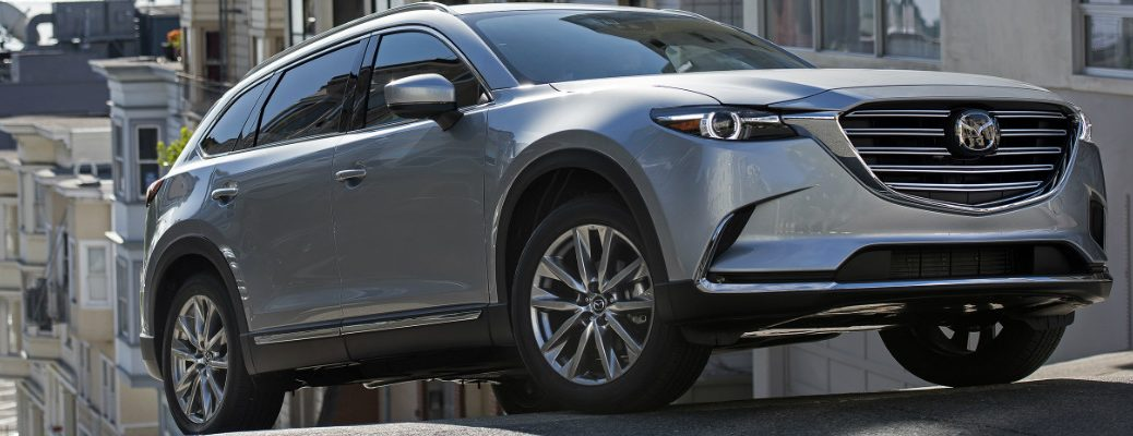 What new features does the 2018 Mazda CX-9 offer?