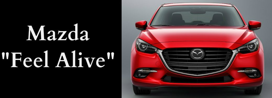 Mazda Feel Alive Title and Red 2018 Mazda3