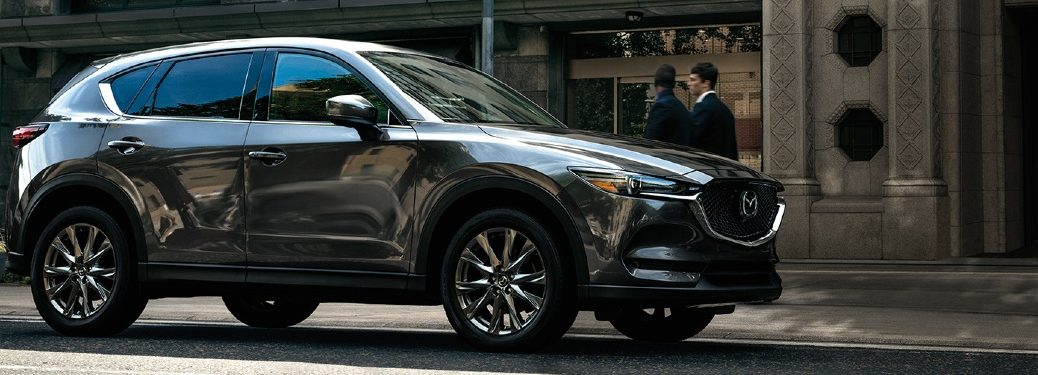 2020 Mazda CX-5 parked in front of shop
