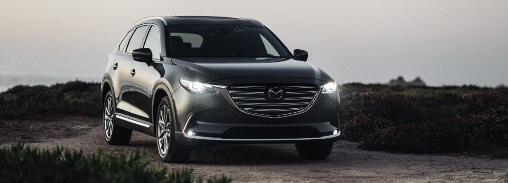 2020 Mazda CX-9 parked on scenic drive