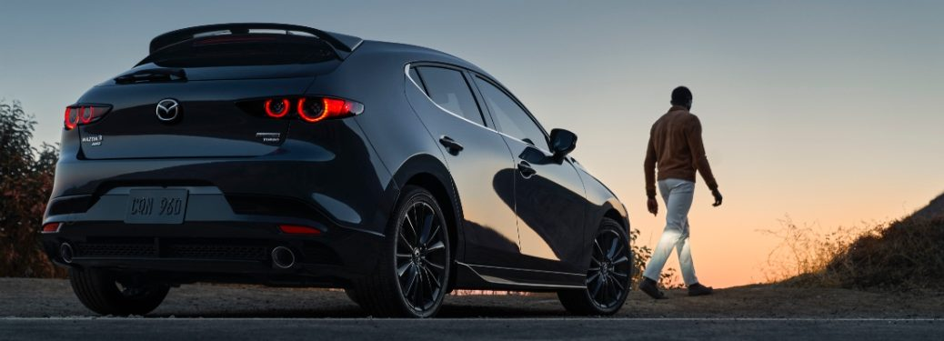 2021 Mazda3 Turbo rear exterior view