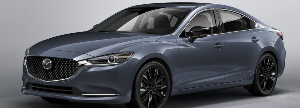 2021 Mazda6 Carbon Edition showcase