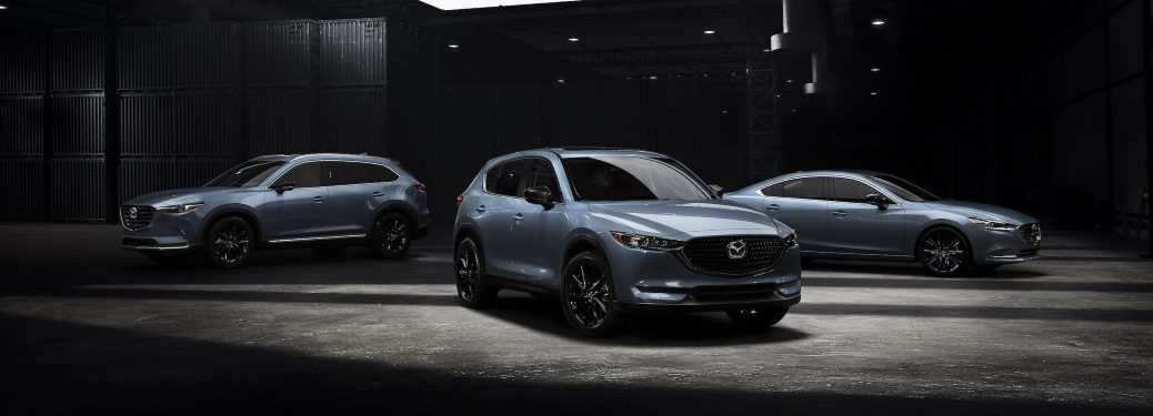 2021 Mazda Carbon Edition models