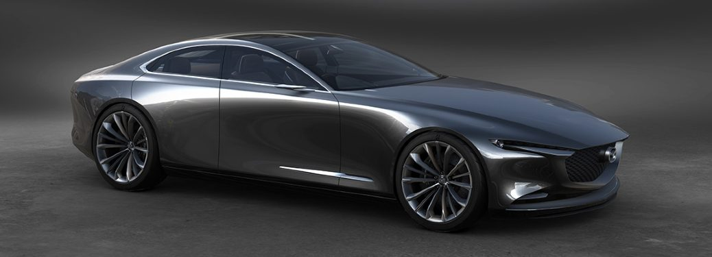 Mazda Vision Coupe concept side profile