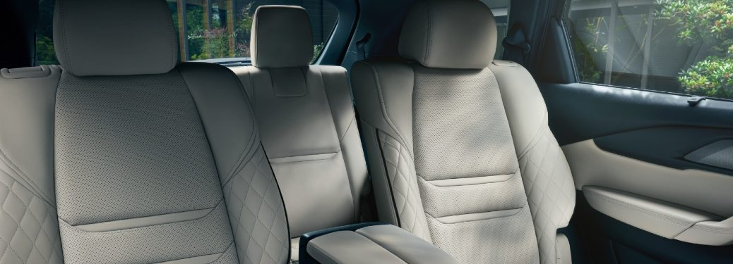 2021 CX-9 rear seats