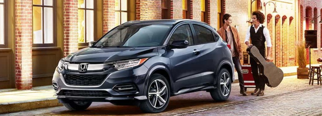 2019 Honda HR-V parked on a seat