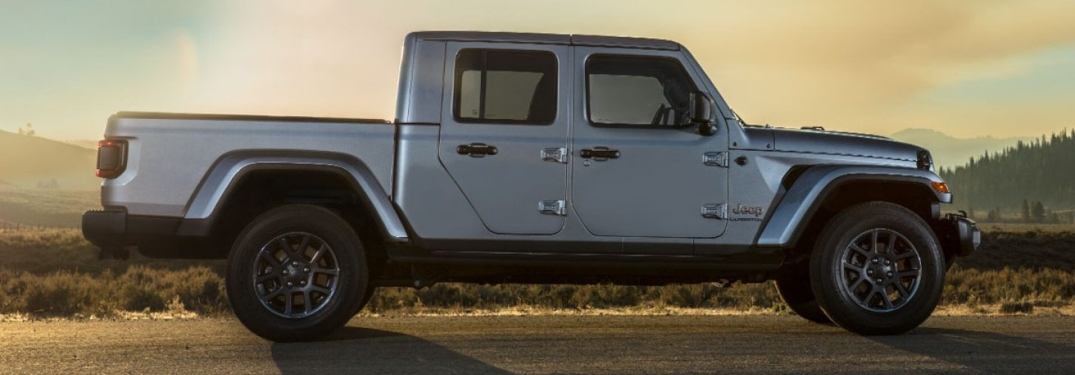 Exterior color options for the all-new Gladiator - Classic Chrysler Dodge  Jeep RAM Fiat