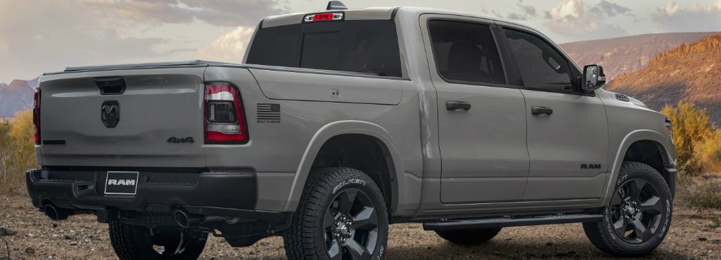 Ram Built To Serve Edition truck parked in the desert