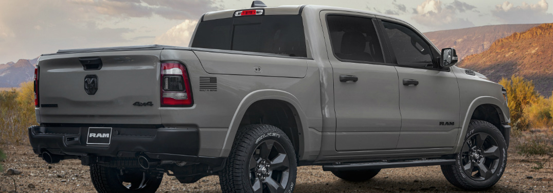 """Dodge Durango Lease Deals >> Ram Creates Military-Inspired """"Built To Serve Edition"""" Truck"""