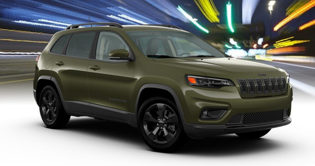 2020 Jeep Cherokee in Olive Green