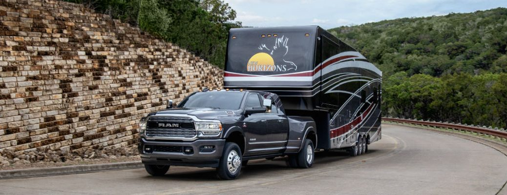 2020 Ram Heavy Duty truck trailering