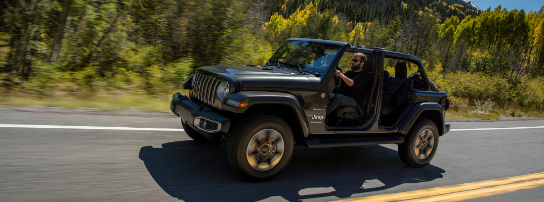 Let the Summer Sun In By Removing the Doors from Your Jeep