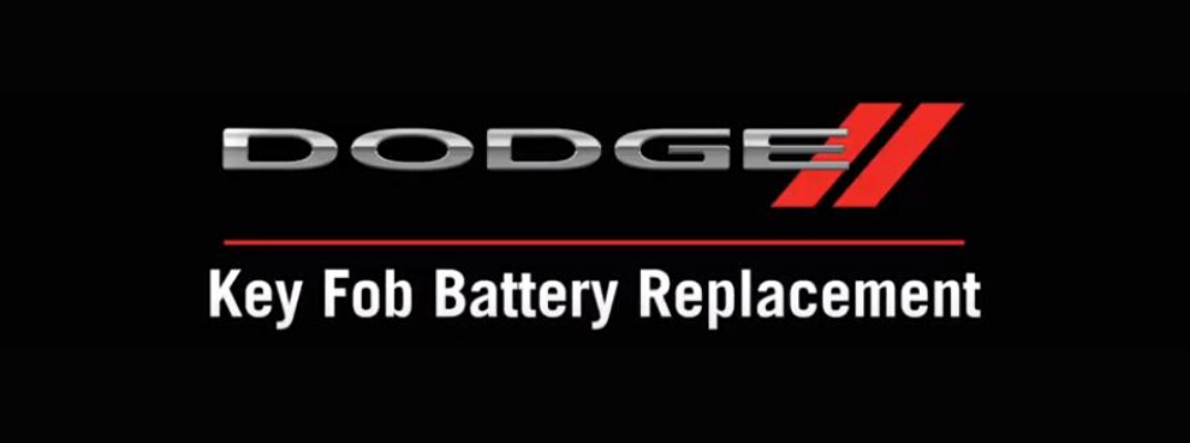 Is My Dodge Vehicle's Key Fob Dead?