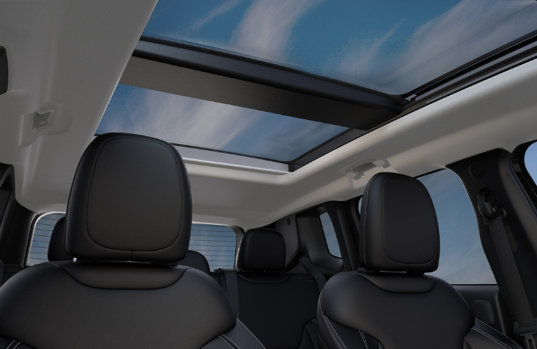 Sunroof in 2020 Jeep Renegade