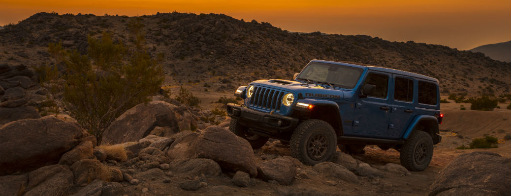 Blue 2021 Jeep Wrangler Rubicon 392