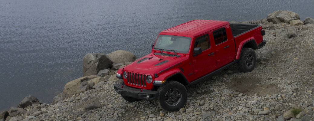 What is the Jeep Gladiator Truck's Breakover Angle?