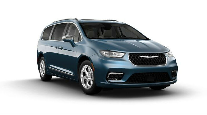 2021 Chrysler Pacifica in Fathom Blue