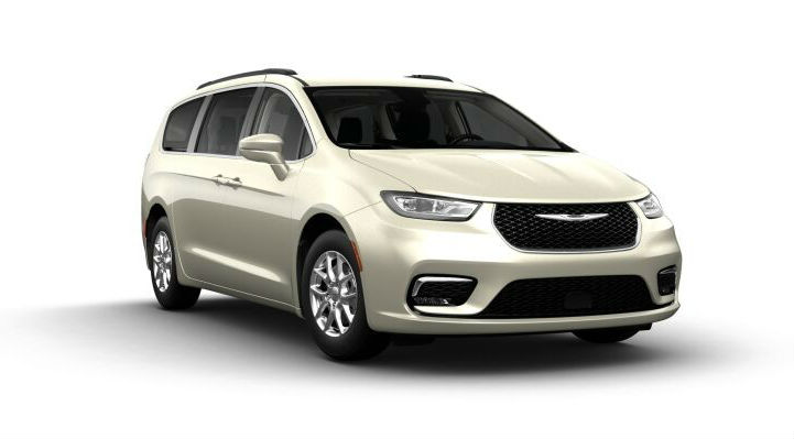 2021 Chrysler Pacifica in Luxury White Pearl