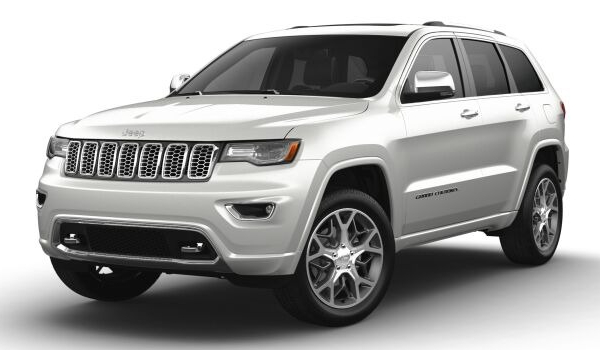 2021 Jeep Grand Cherokee in Ivory 3