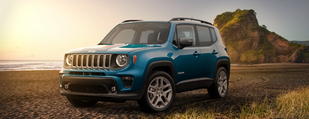 Jeep Introduced First Beach-Themed Renegade Special Edition