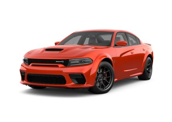 2021 Dodge Charger in Go Mango